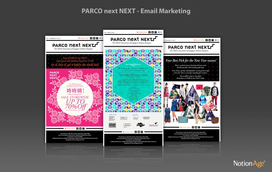 PARCO Next NEXT – Email Marketing