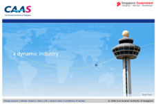 Careers Microsite for Civil Aviation Authority of Singapore