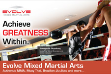 Evolve Mixed Martial Arts – Print Collateral