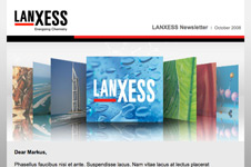 Lanxess – Email Marketing