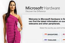 Microsoft Hardware Southeast-Asia Microsite