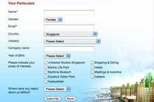 Resorts World Sentosa – Email Marketing