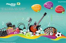 PlayNow™ Kiosk – Sony Ericsson