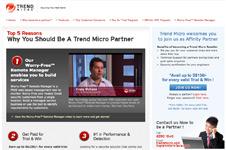 Trend Micro – Fastlane Microsite