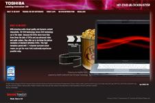 Toshiba – HD DVD Microsite