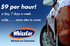 WhizzCar – Print Collateral