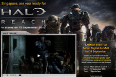Xbox – Halo Reach Launch Campaign